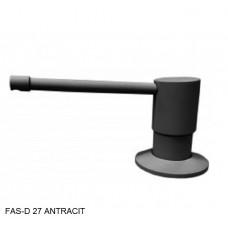 Дозатор для мыла Fabiano FAS-D 27 Antracit