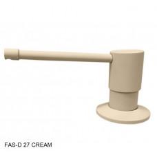 Дозатор для мыла Fabiano FAS-D 27 Cream