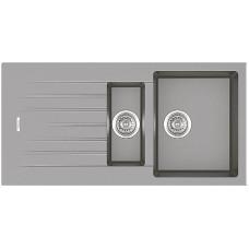 Мойка Fabiano Classic 100x50x15 Grey Metallic