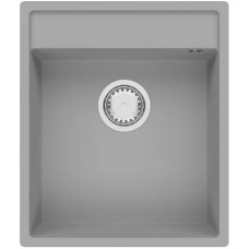 Мойка Fabiano Cubix 44x52 Grey Metallic