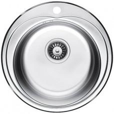 Кухонная мойка Fabiano Ф-490 сатин (0,60)