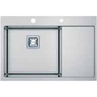 Кухонная мойка Fabiano Quadro TOP 69 Left (690x510) 1.2 мм