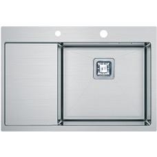 Кухонная мойка Fabiano Quadro TOP 69 Right (690x510) 1.2 мм