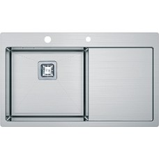 Кухонная мойка Fabiano Quadro TOP 79 Left (790*510) 1.2 мм