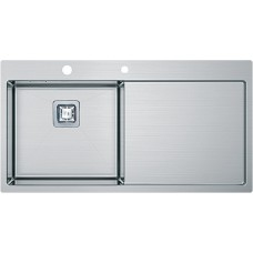 Кухонная мойка Fabiano Quadro TOP 89 Left (890*510) 1.2мм